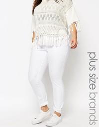 Белые облегающие джинсы Junarose - Белый