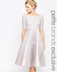 Кружевное платье миди для выпускного True Decadence Petite