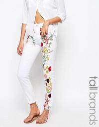 Джинсы с вышивкой Glamorous Tall - Мульти