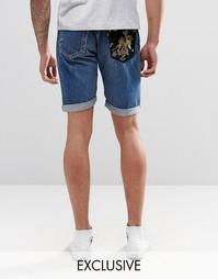 Шорты средней длины с накладкой на кармане Reclaimed Vintage Levi's