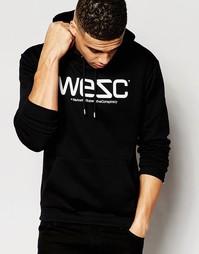 Свитшот c логотипом WeSC - Черный