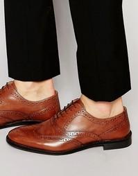Светло-коричневые оксфордские туфли-броги ASOS - Рыжий