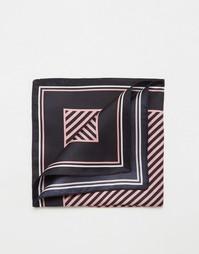Шелковый платок для пиджака в полоску Jack Wills Stowford
