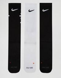 3 пары разноцветных носков Nike SX5128-901 - Мульти