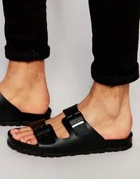 Черные сандалии с пряжкой ASOS