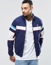 Куртка со вставками Fila Vintage - Темно-синий