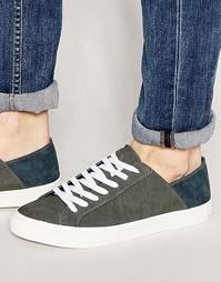 Низкие кроссовки Walk London - Серый
