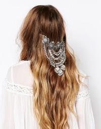 Броский аксессуар для волос Love Rocks - Серебряный