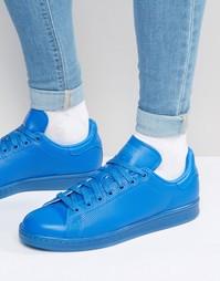 Синие кроссовки adidas Originals Stan Smith adicolor S80246 - Синий