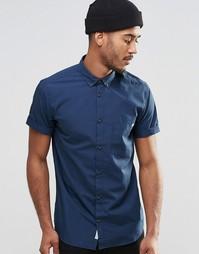 Рубашка с короткими рукавами и воротником на пуговицах Jack & Jones