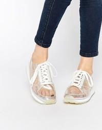 Кроссовки с носками Le Coq Sportif Eclat - Прозрачный