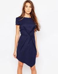 Жаккардовое платье Liquorish - Темно-синий