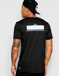 Футболка с винтажным принтом на спине adidas Originals AJ7297 - Черный