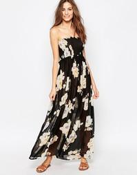 Платье макси с цветочным принтом Pia Rossini Pasadena - Pasadena