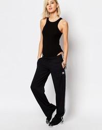 Спортивные брюки с широкими штанинами и полосками adidas Originals 3
