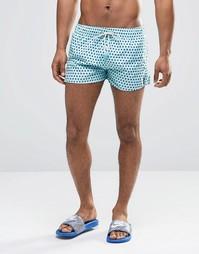 Короткие шорты для плавания в горошек Oiler & Boiler Tuckernuck