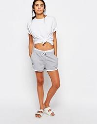 Трикотажные шорты со шнуровкой Missguided - Серый