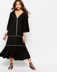 Платье в испанском стиле Pitusa - Черный