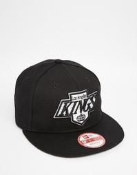 Бейсболка со вставами из сетки New Era 9 Fifty LA Kings - Черный