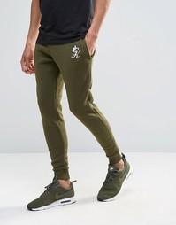 Облегающие спортивные штаны Gym King - Хаки