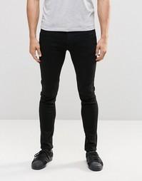 Суперэластичные джинсы скинни Jack & Jones - Черный