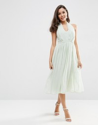 Платье миди ASOS WEDDING - Мятный
