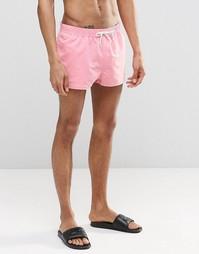 Розовые короткие шорты для плавания ASOS - Розовый