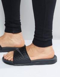 Шлепанцы Nike Benassi 705474-091 - Черный