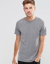 Серая футболка с круглым вырезом Esprit - Умеренный серый