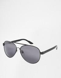 Солнцезащитные очки-авиаторы с прозрачными стеклами Jack & Jones