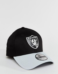 Кепка New Era 39Thirty LA Raiders - Черный