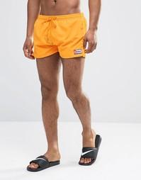 Короткие шорты для плавания Oiler & Boiler Freshman - Оранжевый
