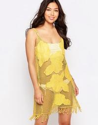 Пляжное платье мини Liquorish - Желтый