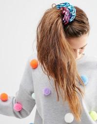 Резинка для волос с пайетками ASOS Confetti - Мульти