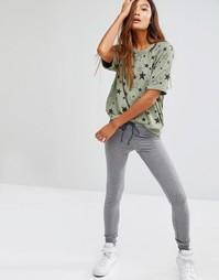 Узкие спортивные штаны Sundry - Серый