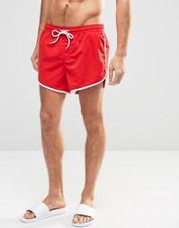 Шорты для плавания Jack & Jones Runner - Красный