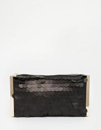 Сумочка-клатч Glamorous - Матовый черный