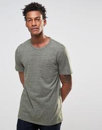 Оливковая меланжевая футболка с карманом Levi's Sunset 1 - Оливковый Levi's®