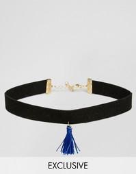 Ожерелье с кисточкой Reclaimed Vintage