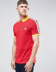 Красная футболка‑поло Fred Perry Spain - Красный