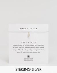 Серебряное ожерелье с подвеской в виде мороженного Dogeared Sweet Trea