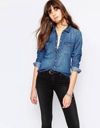 Джинсовая рубашка JDY - Умеренный синий