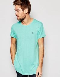 Длинная футболка Esprit - Светло-зеленый