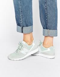 Зеленые кроссовки New Balance 996 - Мятный