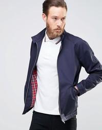Темно-синяя куртка Харрингтон ASOS - Темно-синий