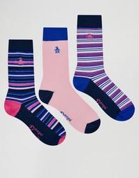 Комплект из 3 пар носков Original Penguin - Розовый