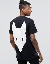 Футболка Long Clothing Fox - Черный
