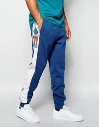 Джоггеры с графическим принтом adidas Originals AJ7280 - Синий