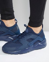 Кроссовки Nike Air Huarache Run Ultra Br 833147-400 - Синий
