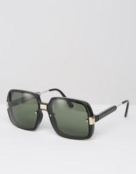 Большие черные солнцезащитные очки в квадратной оправе Spitfire